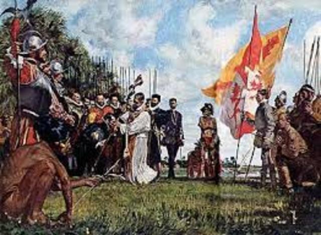St Augstine, Flordia established