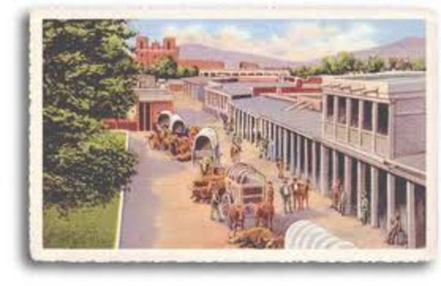 Santa Fe, New Mexico founded