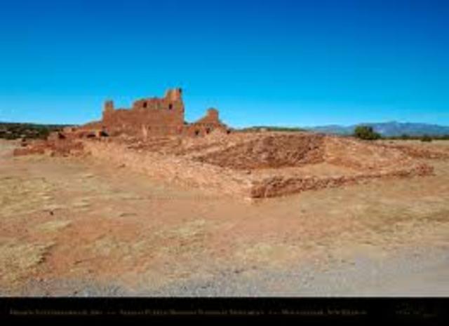 drought force anasazi to abandon pueblos 1270