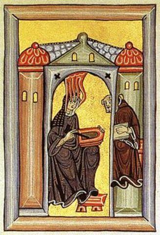 Hildegard of Bingen (1098 – 17 September 1179)