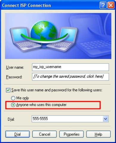 Dial-Up Created