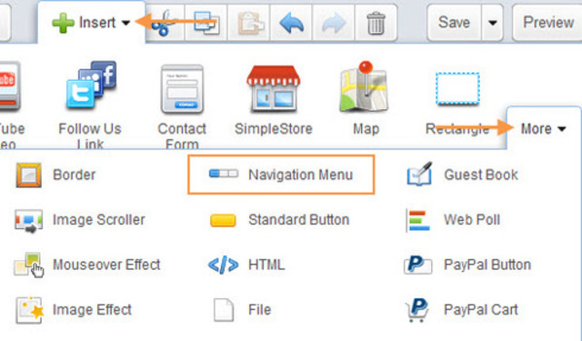 Point-and-click Navigation