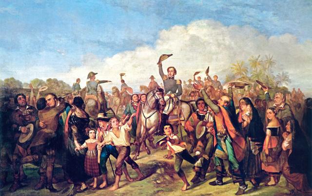 Primeros movientos independentistas de las colonias americanas españolas
