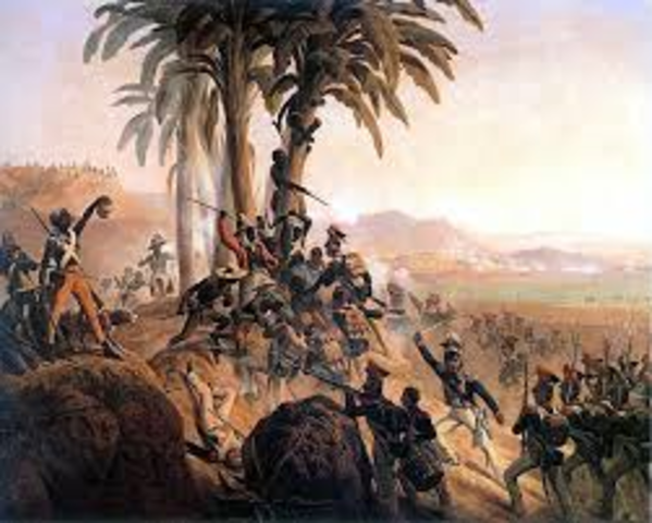Frist slave revolts in Hispaniola