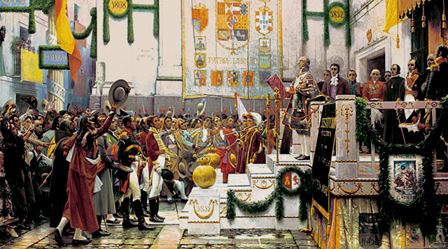 Primera constitucion Española.