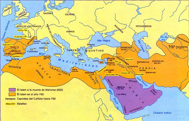 La expansión árabe