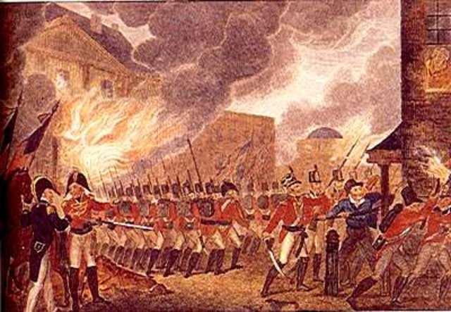 Washington, D.C. Attacked and Burned.