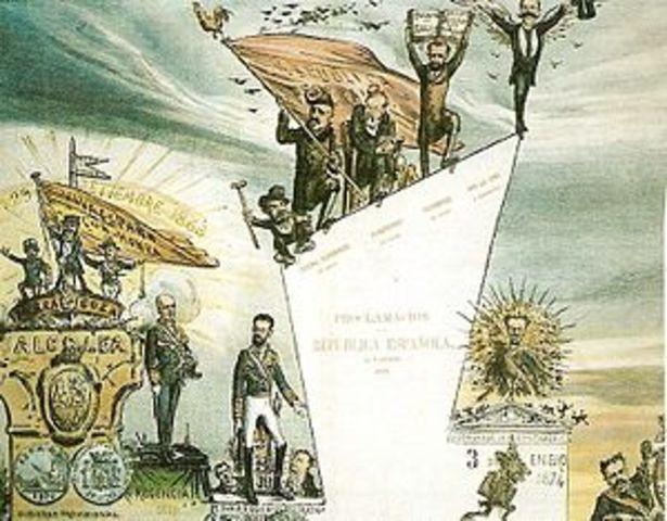 """ESPAÑA: Revolución """"la Gloriosa"""""""