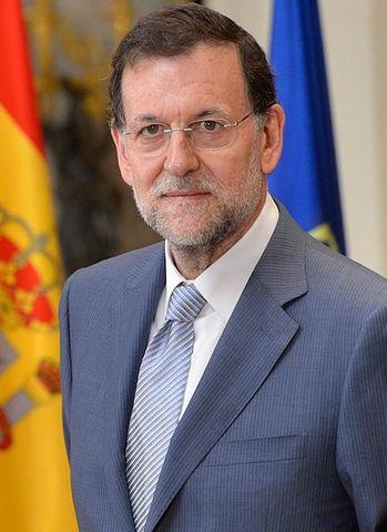 Presidente actual del gobierno Mariano Rajoy.