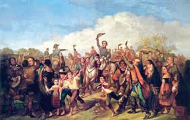 Proclamação da Independência do Brasil por D. Pedro IV