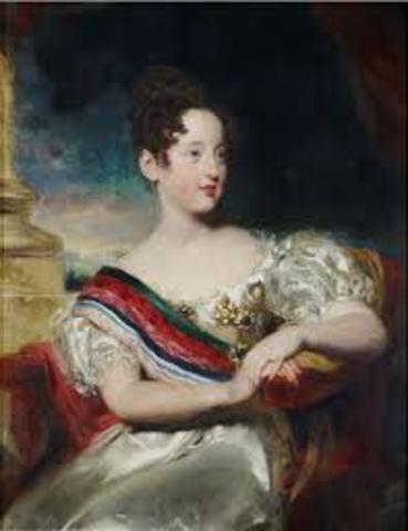 1 de Agosto - A infanta D. Isabel Maria, torna-se regente em nome de D. Maria II.