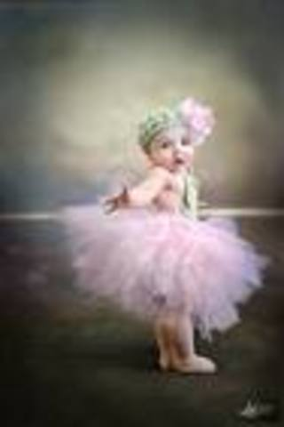 Baby starts ballet