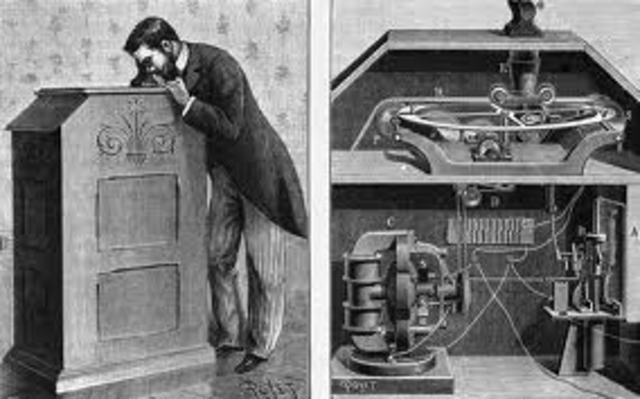 Invenció del kinetoscopi