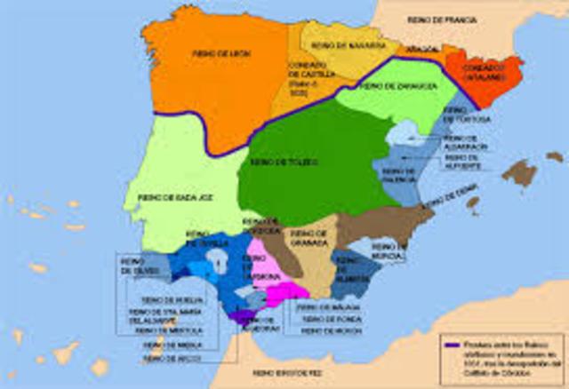 Desaparición del Califato de Córdoba.