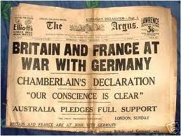 Britian declared