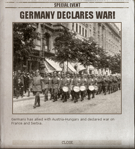 Germany declared
