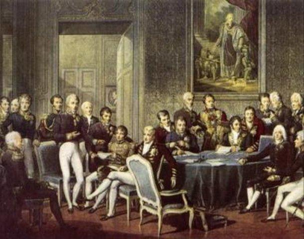 Finaliza el Congreso de Viena