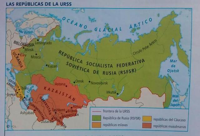 Formación de la URSS.