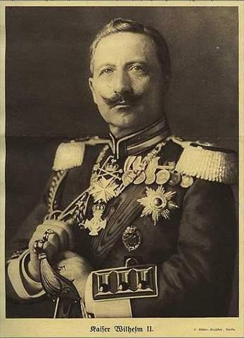 Kaiser William II of Germany Abdicates