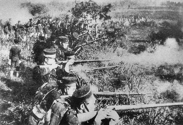 La guerra sino-japonesa