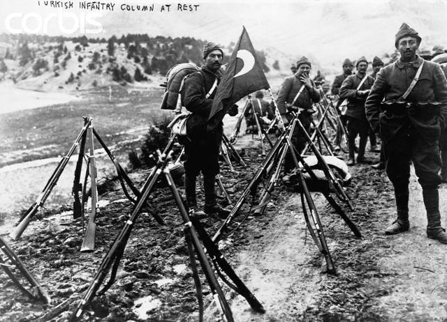 Turkey Enters the War on Germany's Side