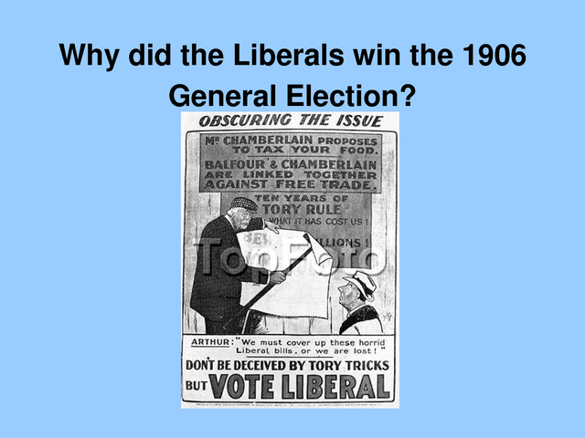 General Election in 1906