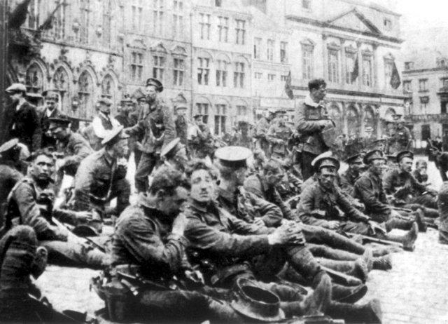 major battles fought in 1914