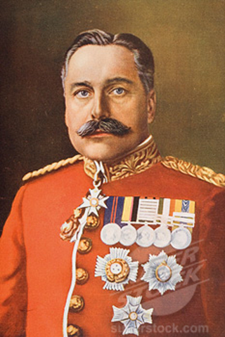New British commander in 1915, as substitute of Sir John French.
