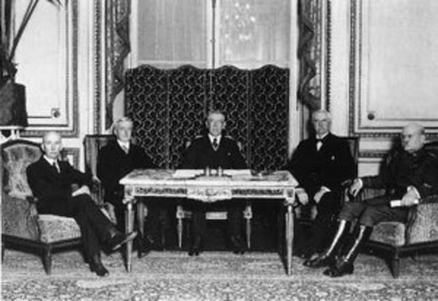 Main points from the Versailles Treaty.