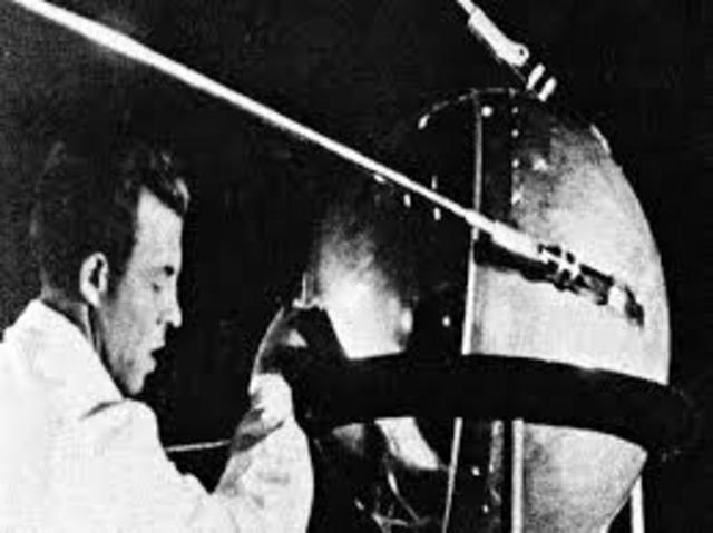 USSR Launches Sputnik1