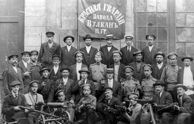 Red Guards Seize Winter Palace