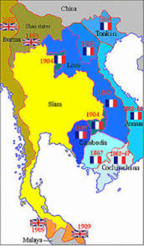 France Takes Control of Southeast Asia