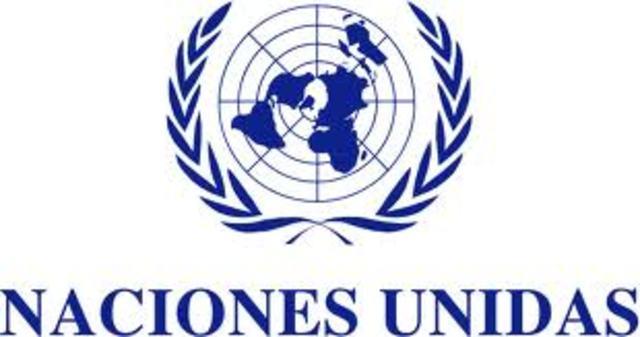 Proclamación por la ONU de la Declaración Universal de los DerechosHumanos.