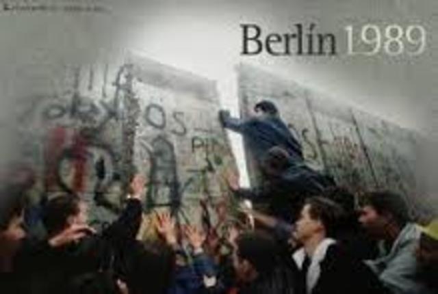 Cae el muro de Berlín, preámbulo de la reunificación de Alemania