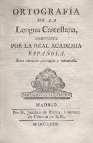 Se funda la Real Academia de la Lengua Española