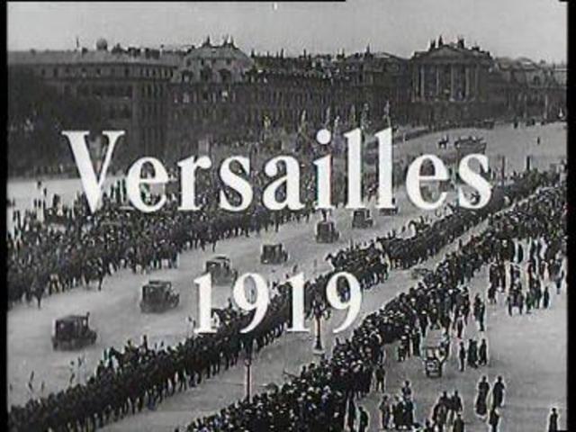 Conferencia de Paz en París: Paz de Versalles