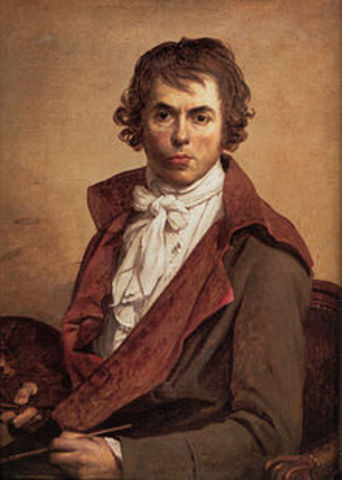 Jacques Louis David's Birth