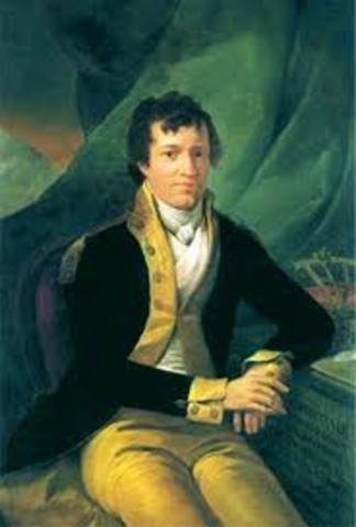 Alexander von Humboldt 1769-18595 Jun 1799