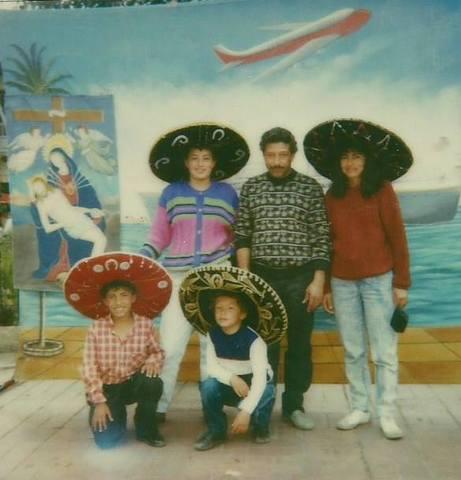 paseos y reuniones en fiestas familia Quintero Cortes