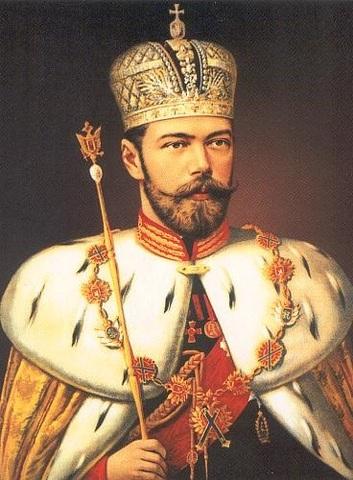 Abdication of Tsar Nicholas
