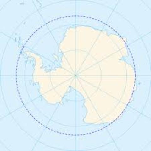 Captain Cook First sails into the Antarctic circle.