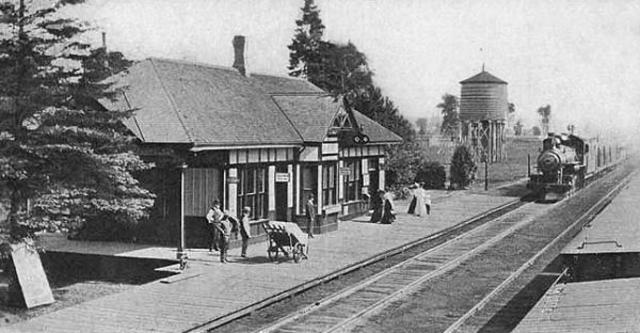 Telegrafista de ferrocarril del Grand Trunk