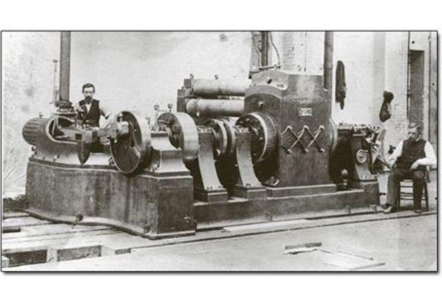 Invenció de la central elèctrica