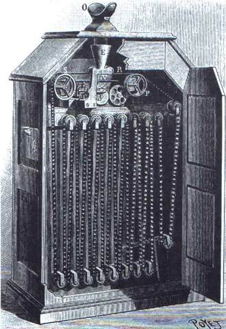 Invenció del Quinetògraf i del Quinetoscopi