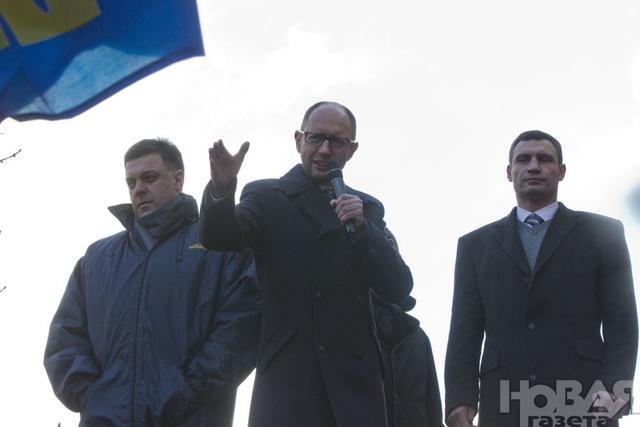 Оппозиция обнародовала «План действий участников Майдана» в пяти частях.