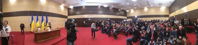 В Ростове-на-Дону прошла пресс-конференция бывшего президента Украины Виктора Януковича