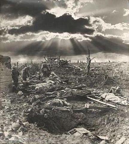 First Battle of Passendaele
