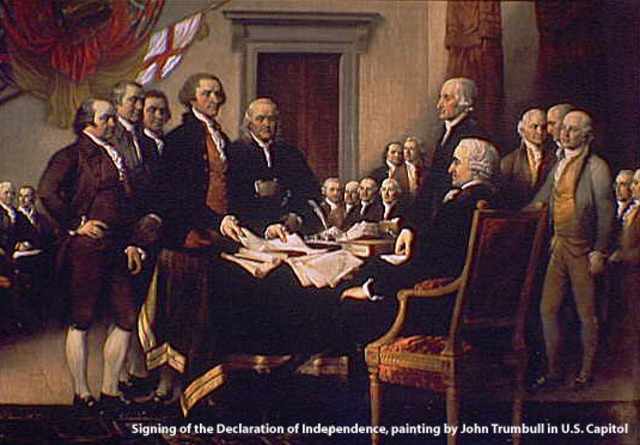 Declaration of American independence