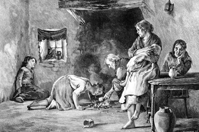 Great potato famine- Ireland