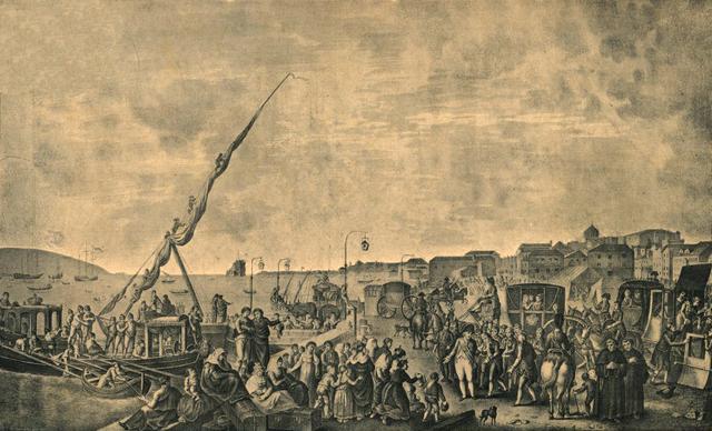 D. João VI, e a Corte, regressam a Portugal